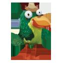 Зеленая птица в игре New-Birds