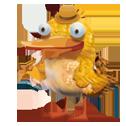 Желтая птица в игре New-Birds