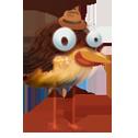 Коричневая птица в игре New-Birds