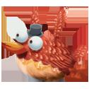 Красная птица в игре New-Birds