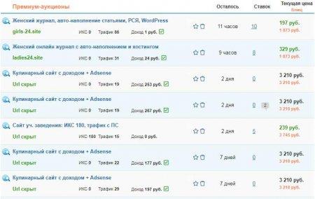 Telderi - покупка сайтов и доменов