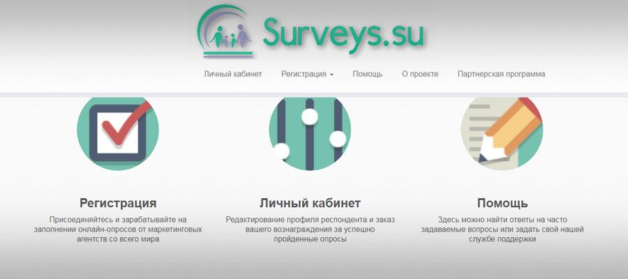 Surveys зарубежный опросник