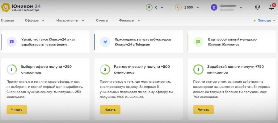 Партнерская сеть Юником24 банк